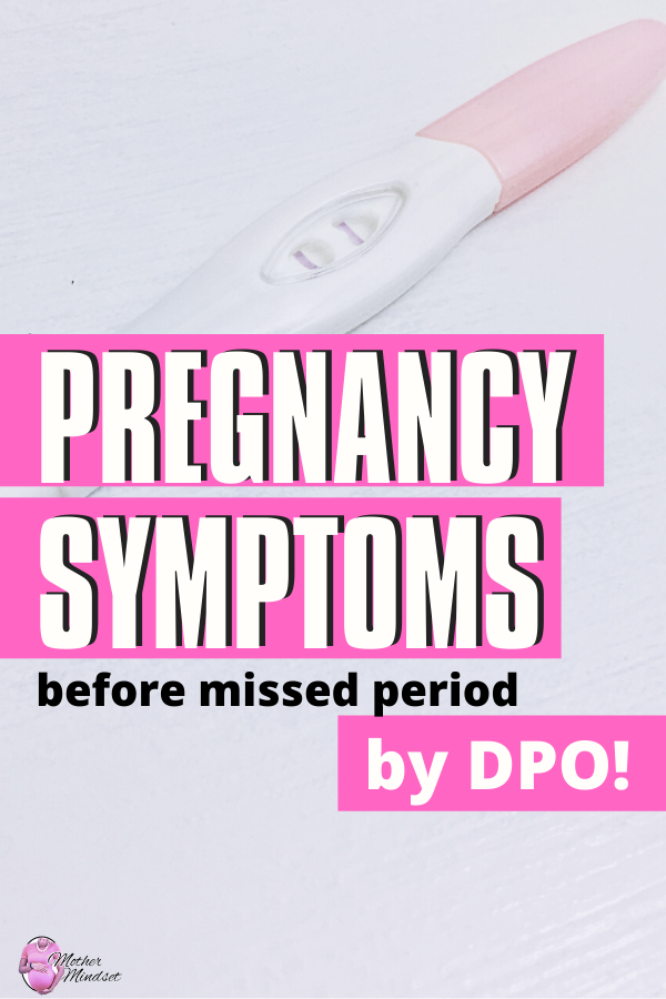 26 SUPER EARLY Pregnancy Symptoms by DPO | Mother Mindset