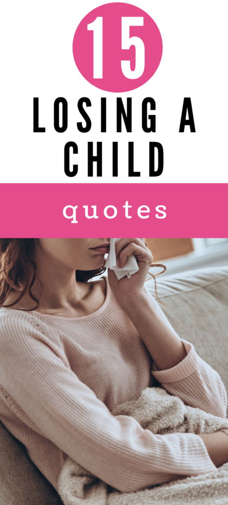 losing a child quotes